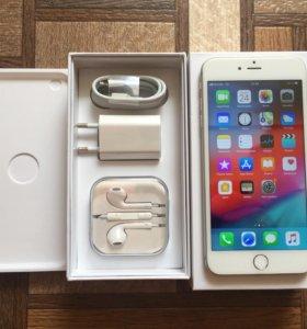 iPhone 6 Plus 64gb silver идеальный