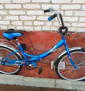 Велосипед складной Novatrack FS-24 (новый)