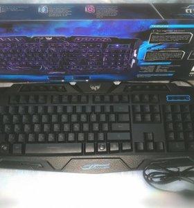 Клавиатура светящаяся новая