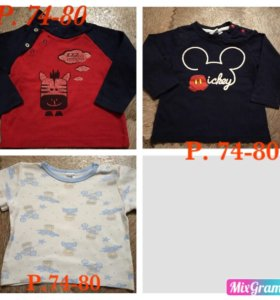 Вещи для малыша crockid, babyGo,р.68-74-80