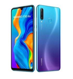 Huawei P30 lite 4/128 Blue. РСТ. Гарантия