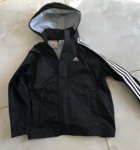Куртка ветровка- дождевик ADIDAS