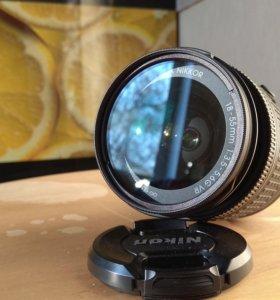 Объектив Nikon NIKKOR 18-55 VR