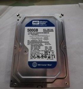 Жесткий диск SATA 500GB