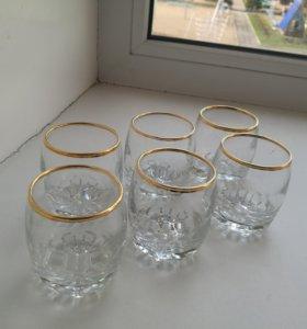 Стопки (стекло,6 штук )