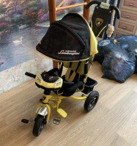 Велосипед Ламборджини трёхколёсный