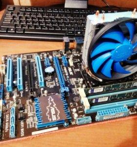 Комплект: Asus P8B75-V+i5-2320+DDR3+gammaxx 200T