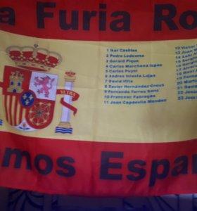 Флаги футбольные 90×65