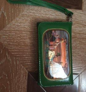 Кошелёк для телефона и карт
