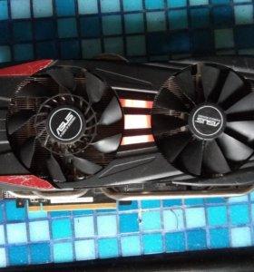 Видеокарта asus Radeon R9 280X DirectCU II 3gb