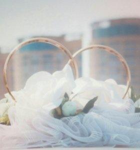 Свадебный венец на машину