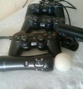 Продаются джостики на PS3, два аккумулятора