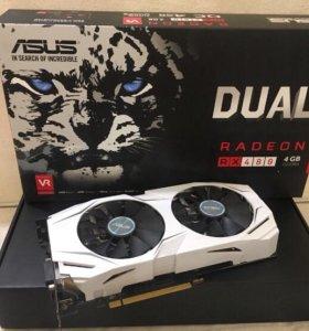 Видеокарта Asus Radeon RX480 4 gb
