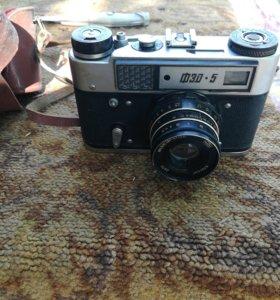 Раритетный фотоаппарат ФЭД-5