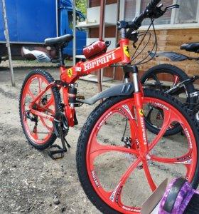 Велосипд на литых дисках