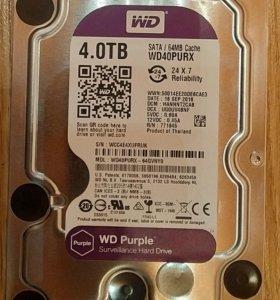HDD WD40PURX 4TB
