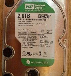 HDD WD20EARX 2TB