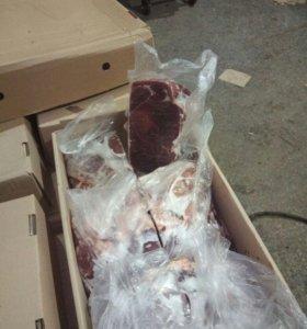 Мясо говядины на кости, просрочка для собак.