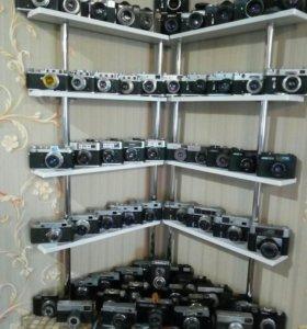 Коллекция фотоаппаратов СССР