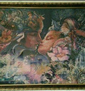 Картина мозайка