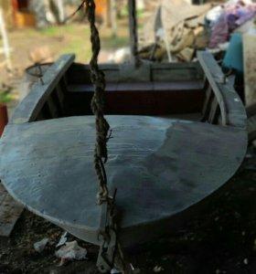 Деревянная Лодка катер