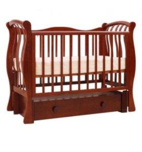 Кроватка детская « Лель»от 0-4 лет.