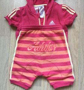 Летний костюм Adidas 2-3 года