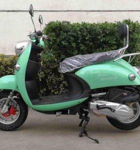 Ретро скутер vento retro