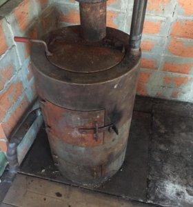 Котёл самоварочный для водяного отопления