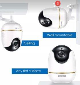 Камера видеонаблюдения радио няня zosi 1080