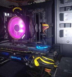 Мощный компьютер для игр и обработки 3d