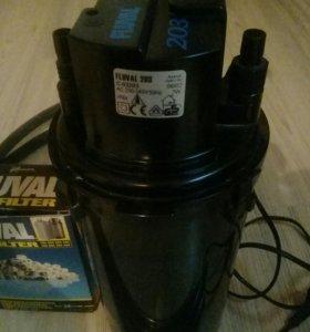 Внешний фильтр для аквариума до 200 литров