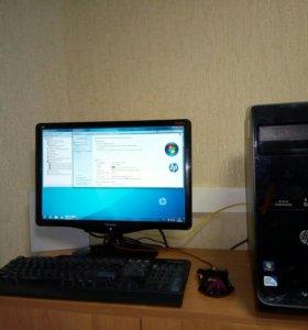 Игровой системный блок: i5+8Gb ddr3+r7-2Gb