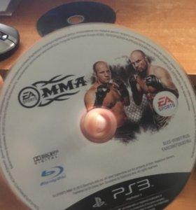 Диск на PS3 MMA лицензия