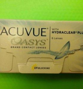 Контактные линзы Acuvue Oasys (D -1.75) 1 пара