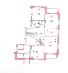 Квартира, 3 комнаты, 138.2 м²