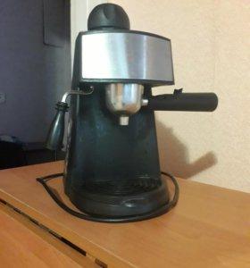 Кофеварка + 5 бар капучинатор