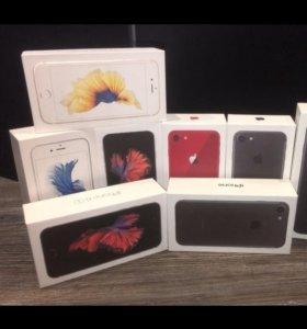 Apple iPhone 4s, 5, 5s, SE, 6, 6s, 7 (новые)