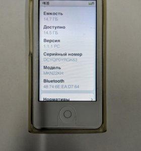 iPod nano 7 16gb (2015)