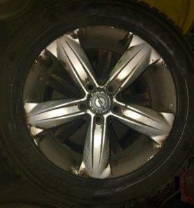 Оригинальные колёса с Opel