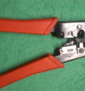 Клещи для обжима проводов и резки