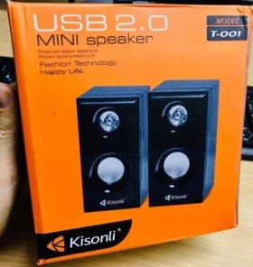 Колонка для компьютера Kisonli T001