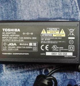 Блок питания TOSHIBA ADPV16A 12V ~ 2.0A