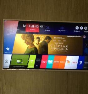 Продам smart tv 108 см
