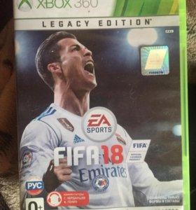 FIFA18 для Xbox 360
