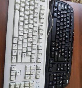 Клавиатура беспроводная и обычная