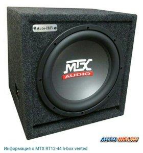 Сабвуфер MTX RT12-44 h-box vented