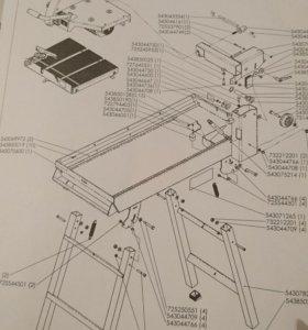 Электрический станок для резки плитки, камня и т.д