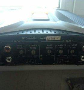 Четырёхканальный усилитель jbl gt5-604