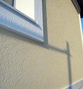 Фасадные работы. Штукатурка